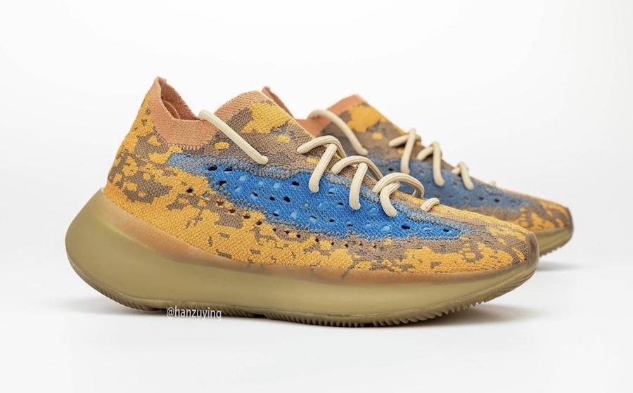 adidas Yeezy椰子 Boost 380蓝色燕麦色多少钱?--高仿nike网站