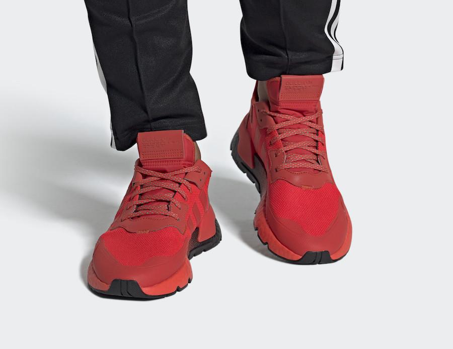 "ADIDAS推出"" HI-RES RED"" NITE慢跑鞋有没有踩屎的感觉?-_福建莆田高仿鞋批发在哪"